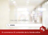 Contenido tienda online