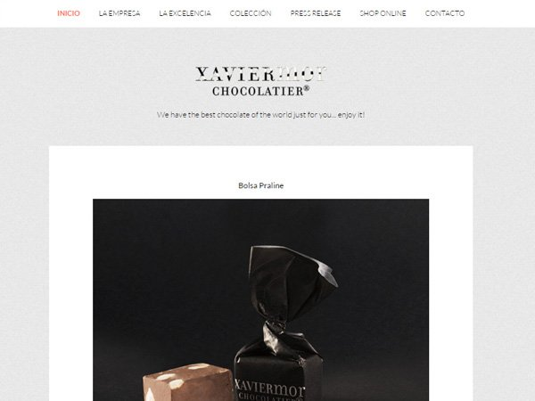 Diseño y desarrollo web Xavier Mor