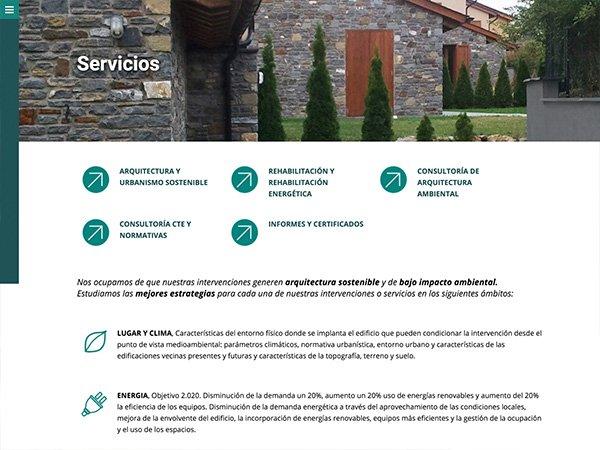 Desarrollo Web www.arquitecturayentorno.com