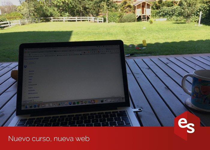 nuevo curso, nueva web