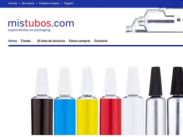 Diseño y desarrollo web mistubos.com
