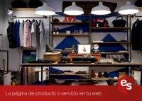 Pagina producto o servicio en tu web