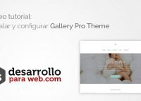 tutorial gallery pro theme