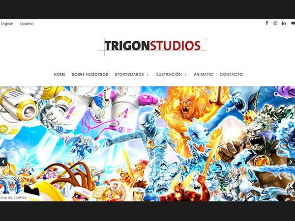 Desarrollo web con WordPress y Genesis Framework para Trigon Studios