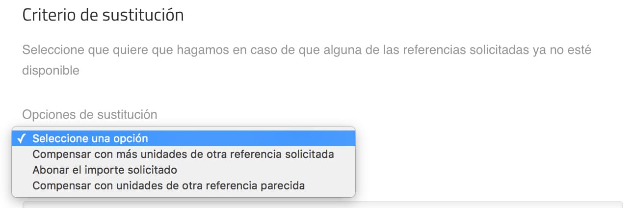 Campo select en checkout de WooCommerce