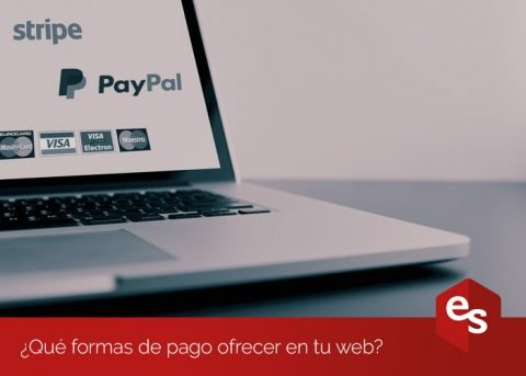 Formas de pago en tu web
