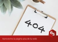 Optimizar la página 404