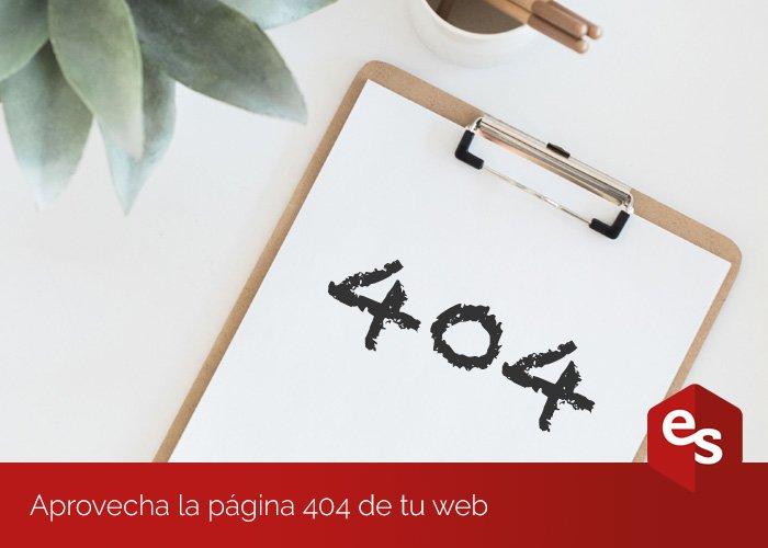 Optimizar la página 404