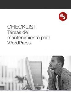 Tareas mantenimiento WordPress