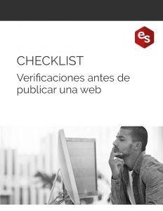 Checklist verificaciones al publicar una web