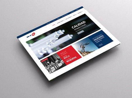 Desarrollo web corporativa WYS