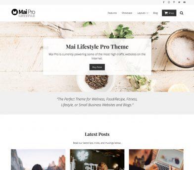 Enamórate: Essence Pro y Mai Lifestyle Pro de StudioPress