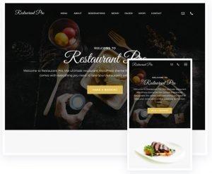 Chilt theme restaurant pro