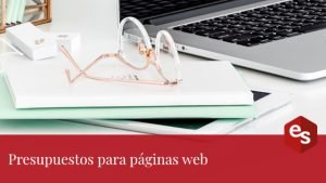 Presupuestos para páginas web