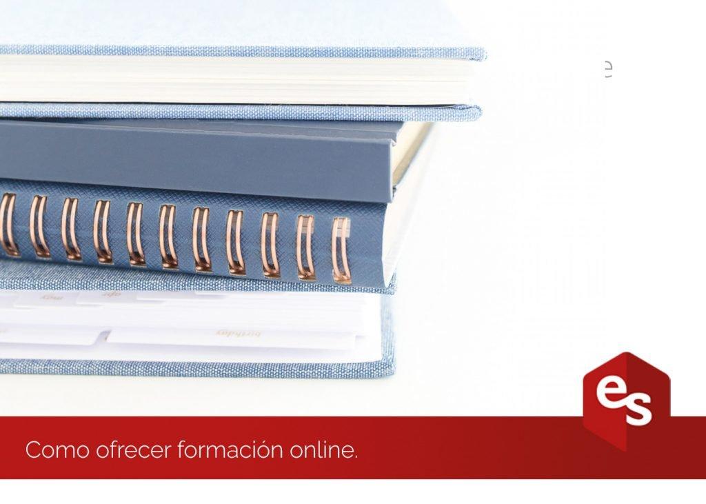 Ofrecer formacion online