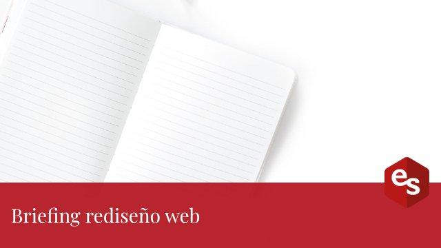 Briefing rediseño web