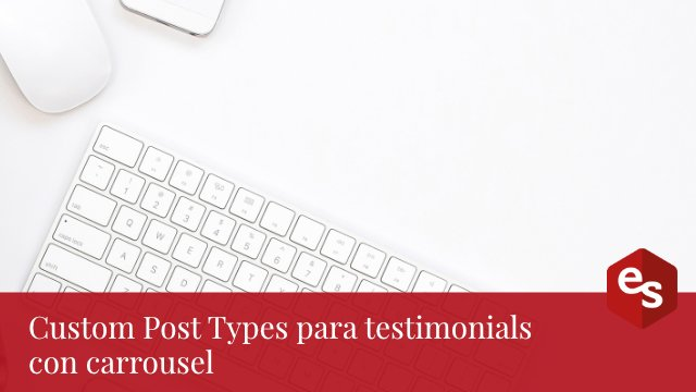 Post types para testimonios