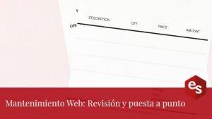 Ofrecer mantenimiento web