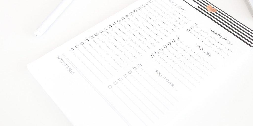 Plantillas y checklists