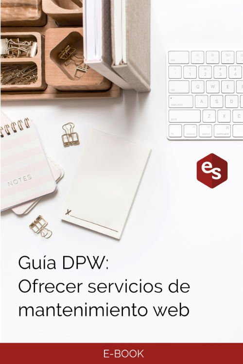 Guía mantenimiento web
