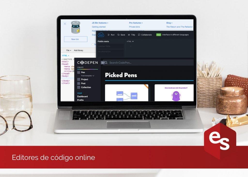 editores de codigo online