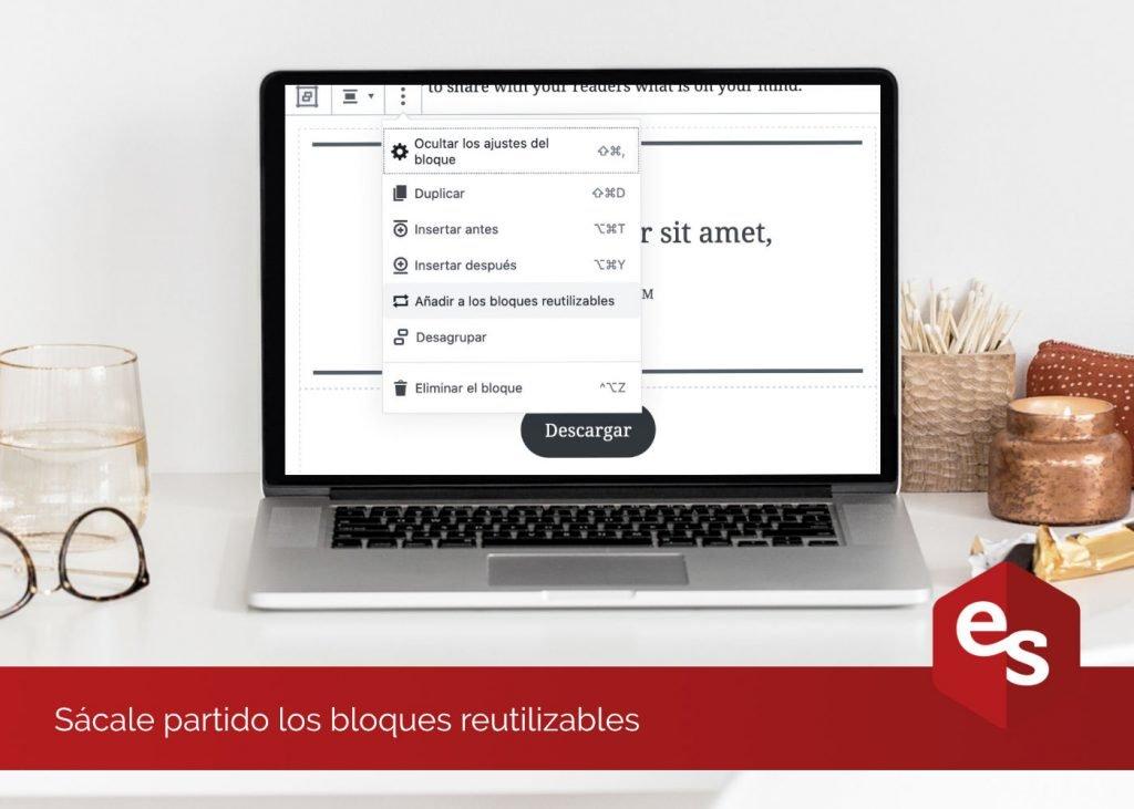 Bloques reutilizables WordPress