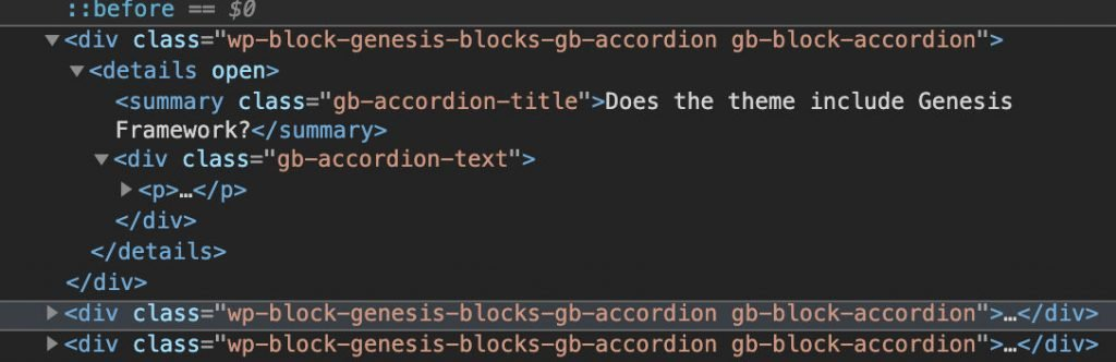 Genesis Blocks Accordion code