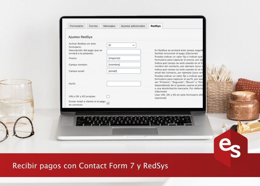 recibir pagos redsys y contact form 7